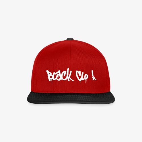 Black Clo Logo - Snapback Cap
