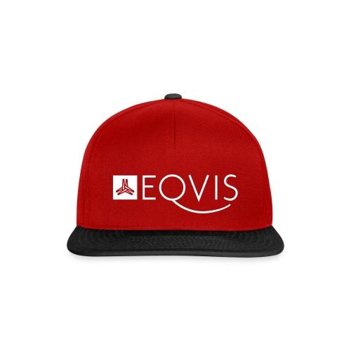 Eqvis_logo+signet_1 - Snapback Cap