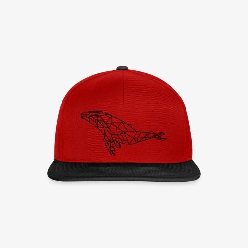 whale - Snapback Cap