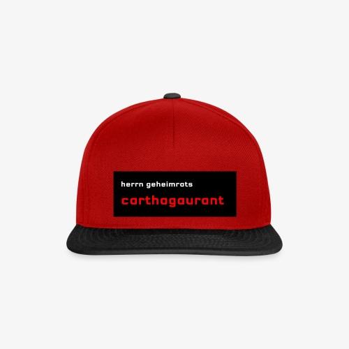 Herrn Geheimrats carthagaurant - Snapback Cap