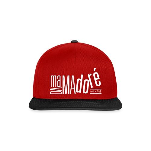 Cappello con Visiera - Logo Bianco - Snapback Cap