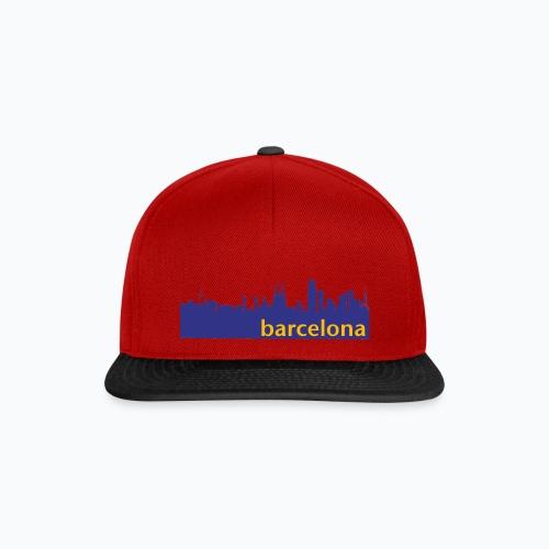 camisa con perfil de Barcelona - Gorra Snapback