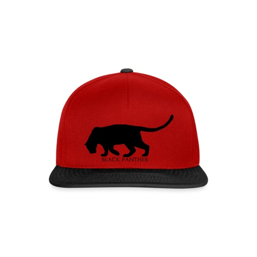 Panther-Text-Under - Snapback-caps