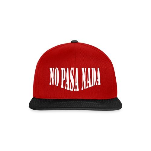 scritta per maglione png BIANCO - Snapback Cap