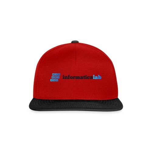 InformaticaLab logo for white background - Snapback Cap