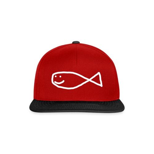 Klassisk Strandfisk T-Shirt - Snapback-caps