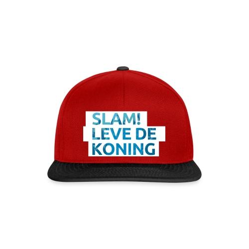 Slam leve de koning! - Snapback cap