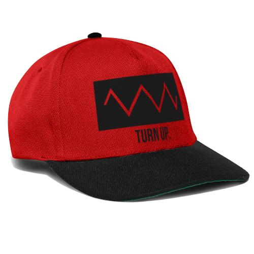 Turn Up - Snapback Cap