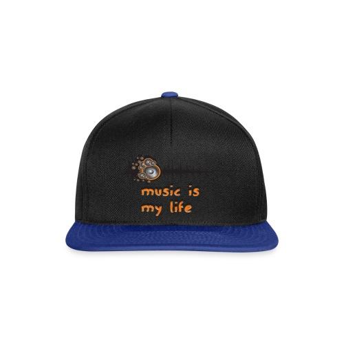 Music is my Life - Snapback Cap
