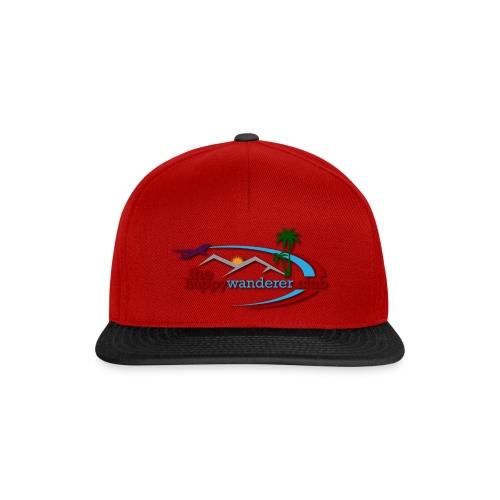 The Happy Wanderer Club Merchandise - Snapback Cap