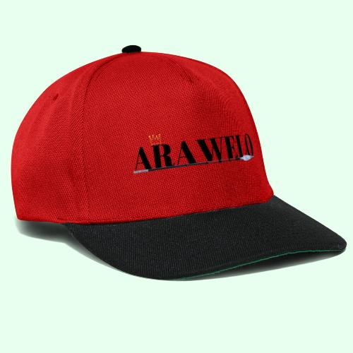 The ARAWELO Collection Gold Crown - Snapback Cap