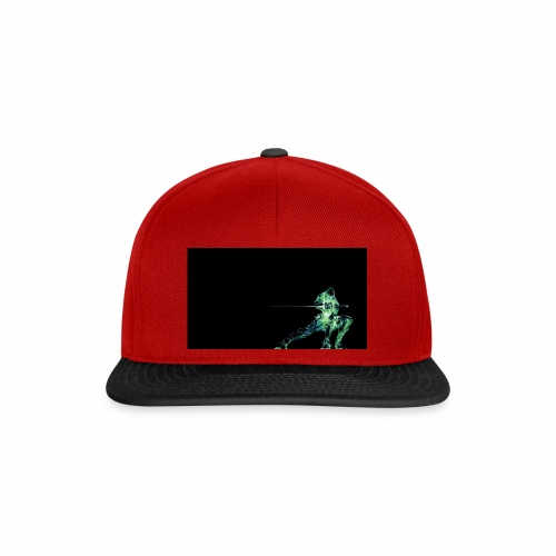 green ninja from PDCM - Snapback cap
