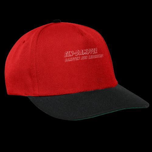 ein dampfer weiss - Snapback Cap