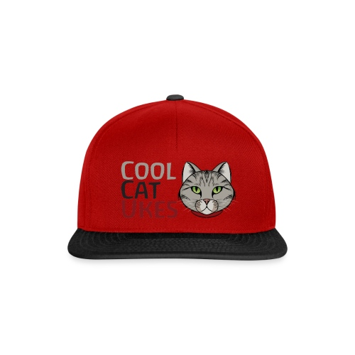 Cool Cat Ukes - Snapback Cap
