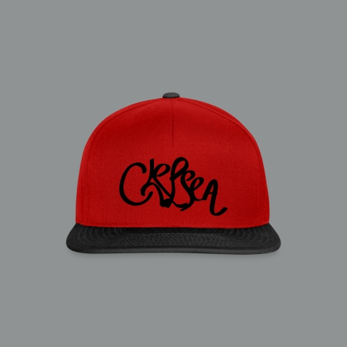 Kinder/ Tiener Shirt Unisex (rug) - Snapback cap