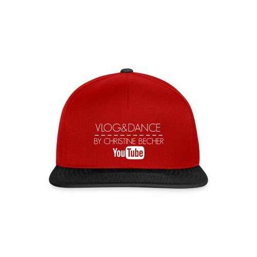 VLOG&DANCE by Christine Becher White - Snapback Cap