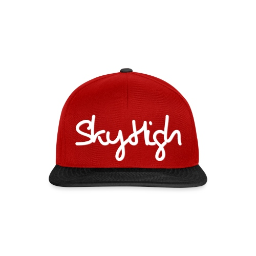 SkyHigh - Snapback - (Printed) White Letters - Snapback Cap