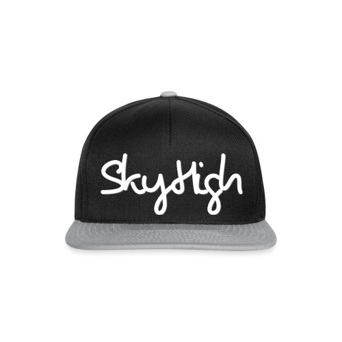 SkyHigh - Snapback - (Printed) White Letters - Snapback Cap