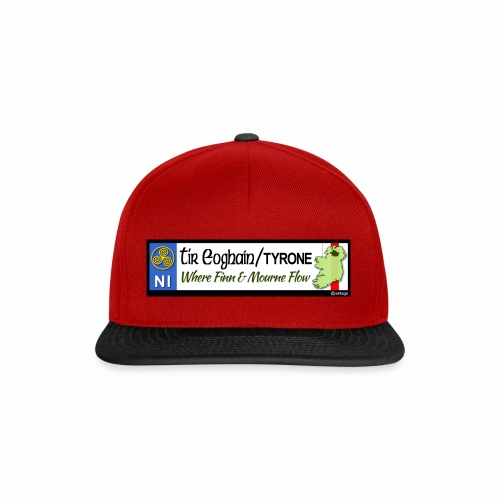 TYRONE, NORTHERN IRELAND licence plate tags decal - Snapback Cap