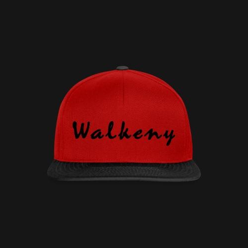 Walkeny Schriftzug - Snapback Cap