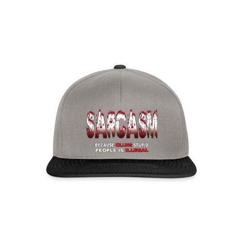 SARCASM - Snapback Cap