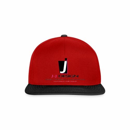 LOGO_J-J_DESIGN_FULL_for_ - Snapback Cap