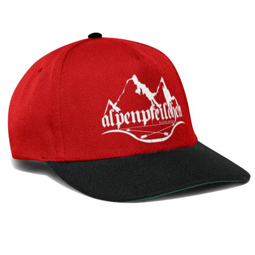 Alpenpfeilchen - Logo - white - Snapback Cap