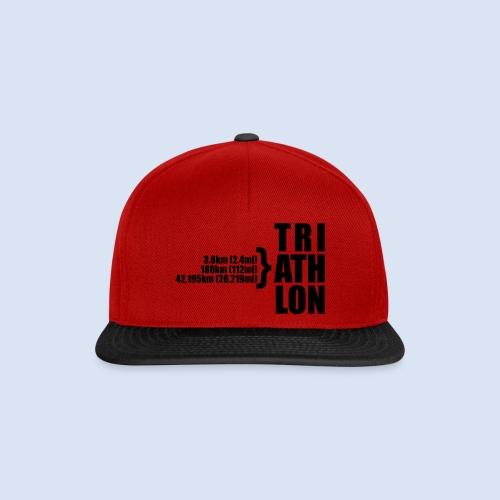Triathlon Sport Distance - Snapback Cap