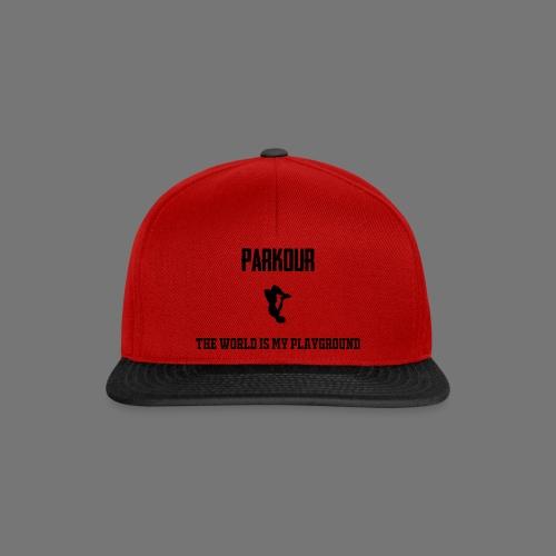 World is my playground - Snapback cap