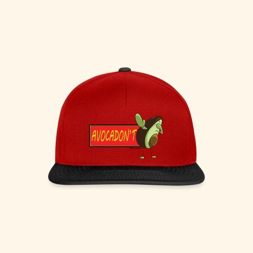 AvocaDON'T - Snapback Cap