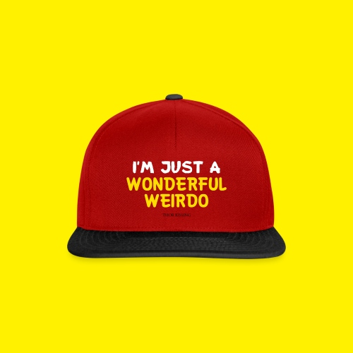The Wonderful Weirdo - Snapback cap
