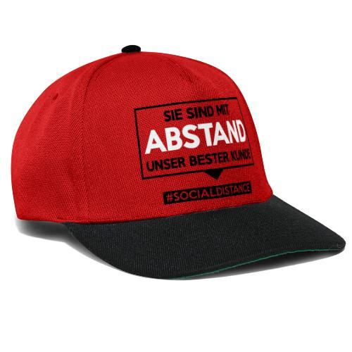 Sie sind mit ABSTAND unser bester Kunde - T Shirts - Snapback Cap