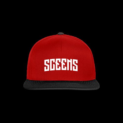 Sceens T-Shirt Vrouwen - Snapback cap