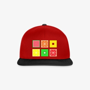 DIGITAL FRUITS - Pixel Frucht - Snapback Cap
