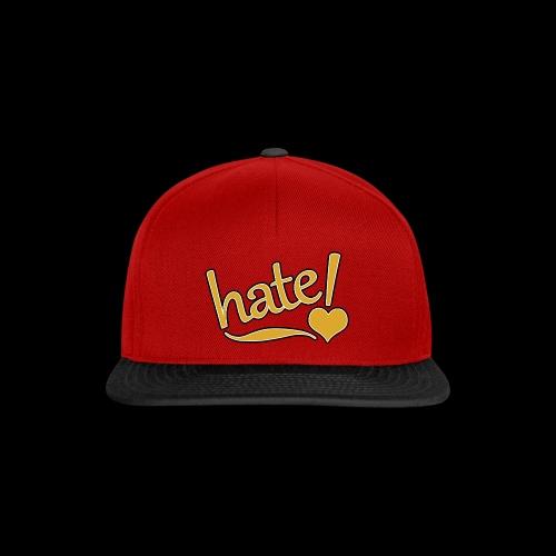 hate ! - Casquette snapback