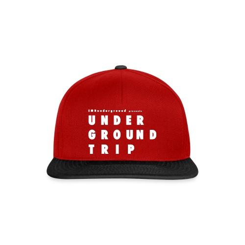 UNDERGROUND TRIP FULL WHITE - Snapback Cap