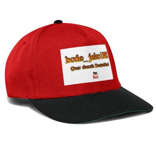 quer durch deutschland - Snapback Cap