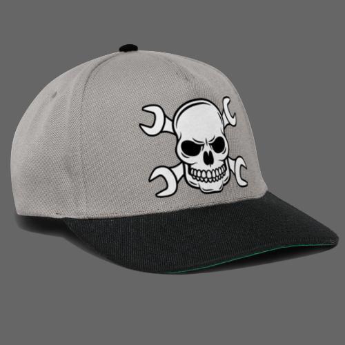 MEKKER SKULL - Snapback Cap