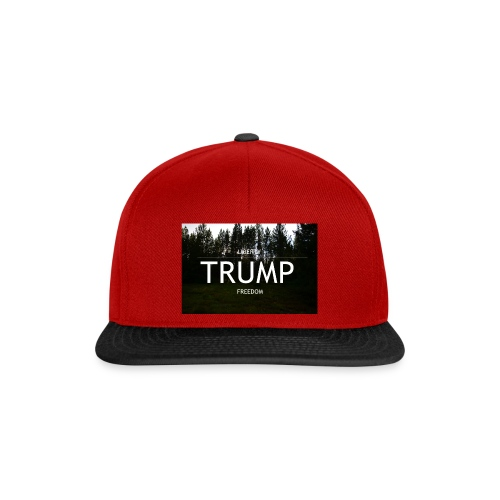 TRUMP, Freedom & Liberty - Snapback Cap