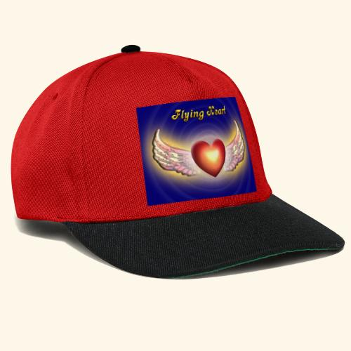 Flying Heart - Snapback Cap