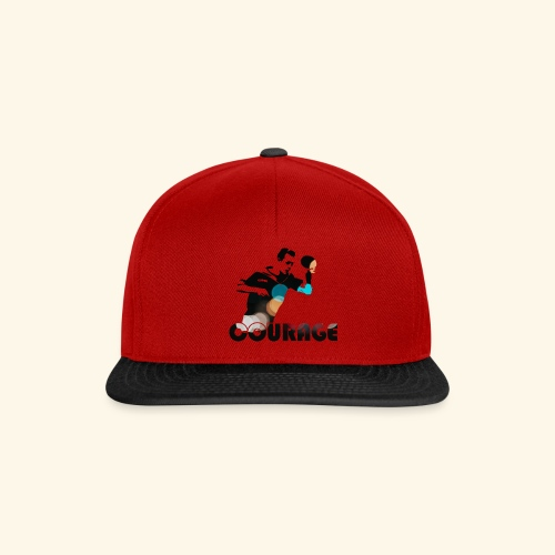 Courage for Championschip - Snapback Cap