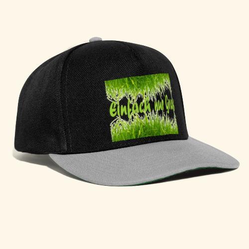einfach nur gras2 - Snapback Cap
