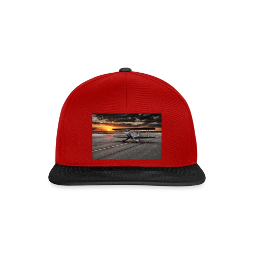 aircraft biplan pitts - Casquette snapback