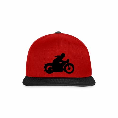 AWO driver silhouette - Snapback Cap