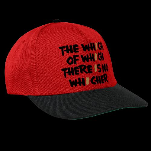 whichwhichwhich - Snapback Cap