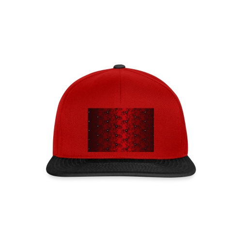 Lace in Red Black Glamor Burlesque Gift - Snapback Cap
