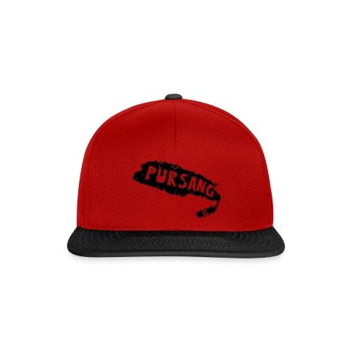 PUR SANG (Black) - Snapback cap