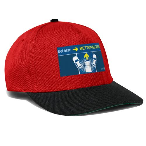 Rettungsgasse - Snapback Cap