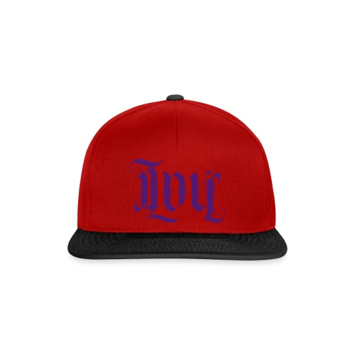 Love and hate - Snapback Cap