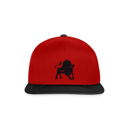 Der schwarze Stier - Snapback Cap